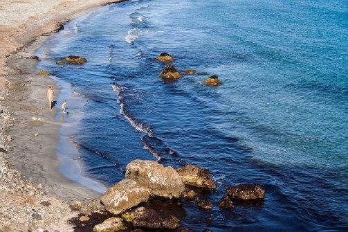 Playa virgen el la isla de Tabarca, Alicante. © mateoht 1990-2013 - http://lafotodeldia.net