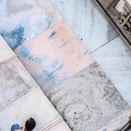 Detalle del mármol de la catedral de Milán, Italia. © mateoht 1990-2013 - http://lafotodeldia.net