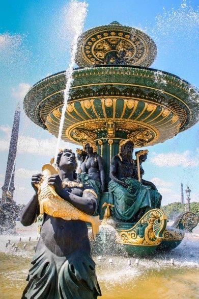 Fuente en París, Francia. © mateoht 1990-2013 - http://lafotodeldia.net