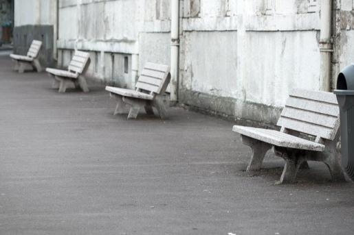 Bancos en la calle. © mateoht 1990-2013 - http://lafotodeldia.net