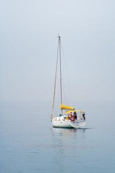 Barco velero cerca del puerto de Tabarca, Alicante. © mateoht 1990-2013 - http://lafotodeldia.net