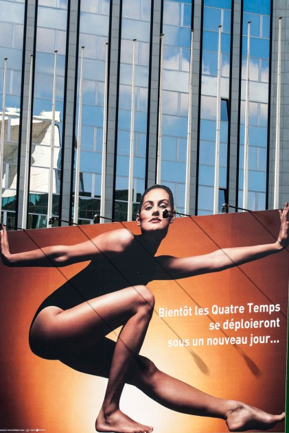 Cartel publicitario en la Defénse, parís. © mateoht 1990-2013 - http://lafotodeldia.net