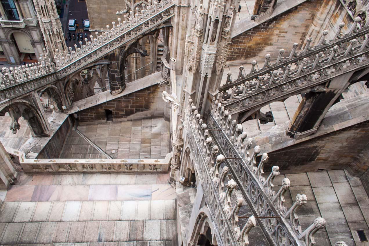 Catedralde Milán, Italia. © mateoht 1990-2013 - http://lafotodeldia.net