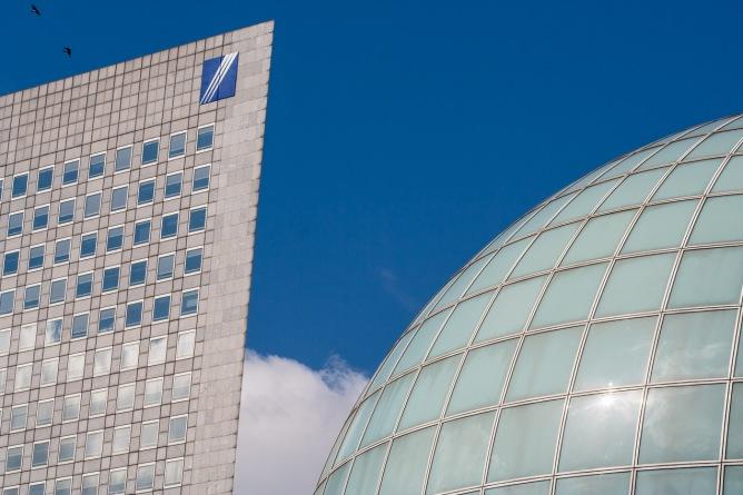 Edificios en la Défense, París. © mateoht 1990-2013 - http://lafotodeldia.net