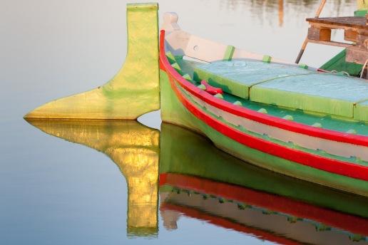 Barca en la Albufera, Valencia. © mateoht 1990-2013 - http://lafotodeldia.net