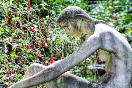 Estatua en el Jardín Botánico de Lisboa. © mateoht 1990-2013 - http://lafotodeldia.net