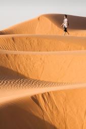 Dunas en el desierto de El Gólea, Argelia. © mateoht 1990-2013 - http://lafotodeldia.net