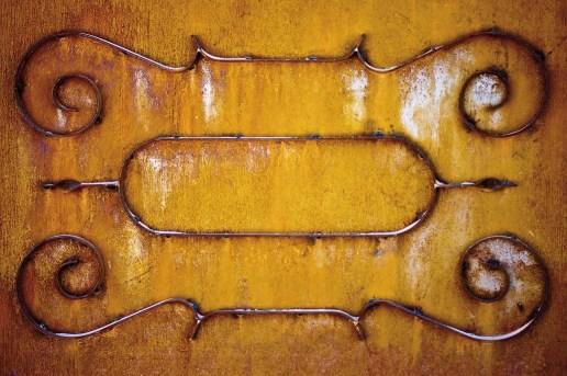 Puerta metálica en Argelia. © mateoht 1990-2013 - http://lafotodeldia.net