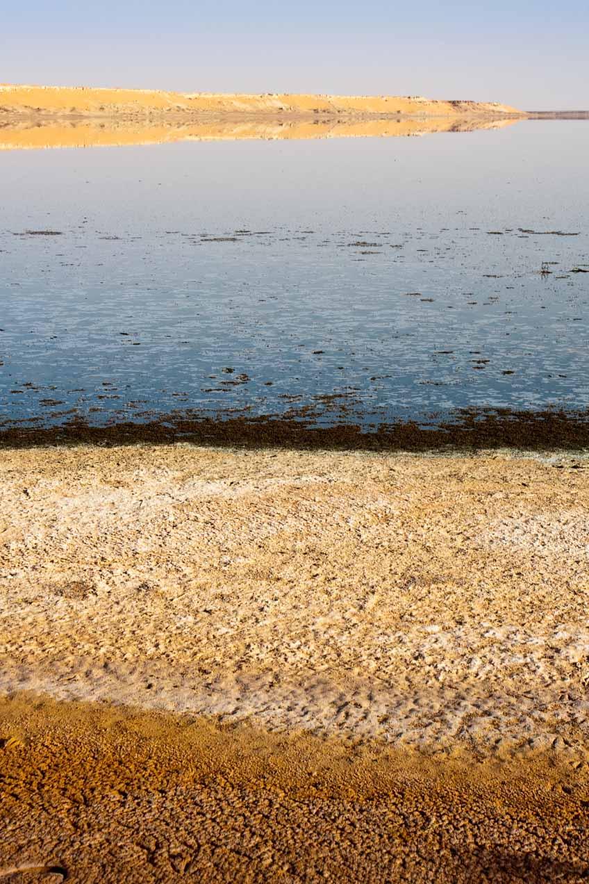 Lago salado en In Salah, Argelia. © mateoht 1990-2013 - http://lafotodeldia.net