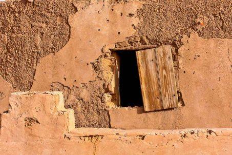 Casa de adobe en Taghit, Argelia. © mateoht 1990-2013 - http://lafotodeldia.net