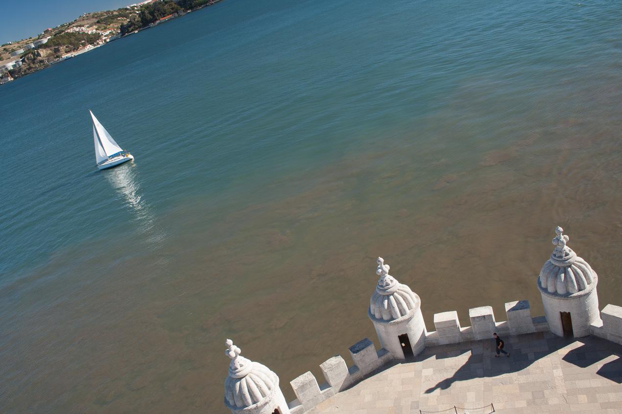 El rio Tajo en Lisboa. © mateoht 1990-2013 - http://lafotodeldia.net