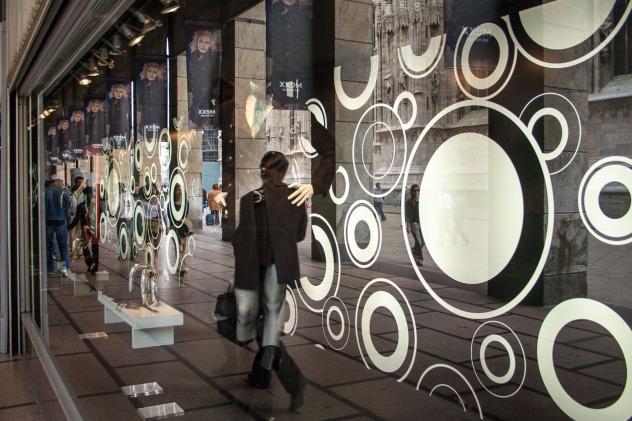 Escaparate en Milan, Italia. © mateoht 1990-2013 - http://lafotodeldia.net