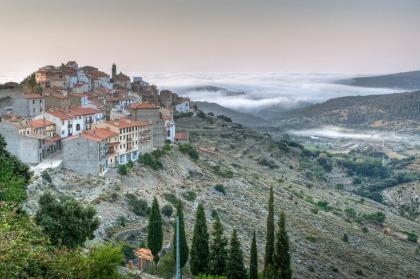Amanece en Chodos, Castellón. © mateoht 1990-2013 - http://lafotodeldia.net
