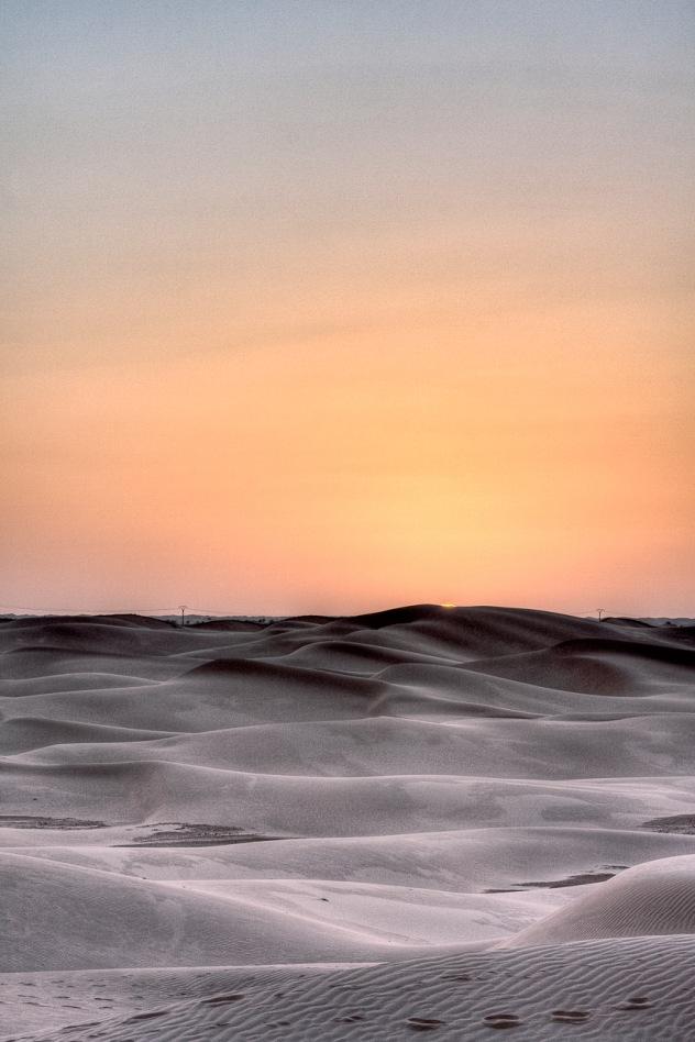 Atardecer en el Sahara, Argelia. © mateoht 1990-2013 - http://lafotodeldia.net