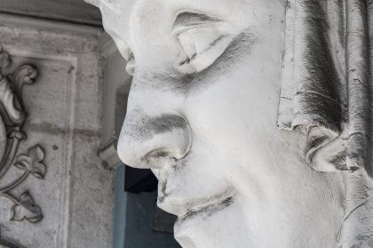 Detalle de una fachada, Milán, Italia. © mateoht 1990-2013 - http://lafotodeldia.net