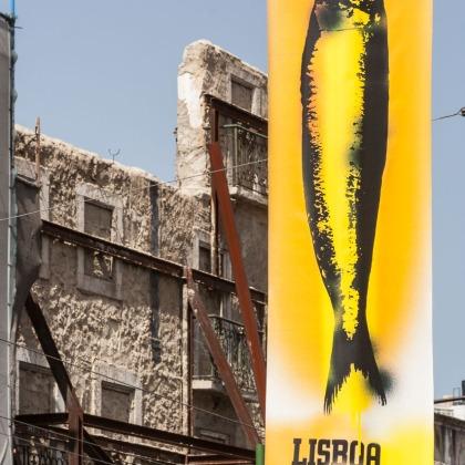 Cartel en Lisboa, Portugal. © mateoht 1990-2013 - http://lafotodeldia.net