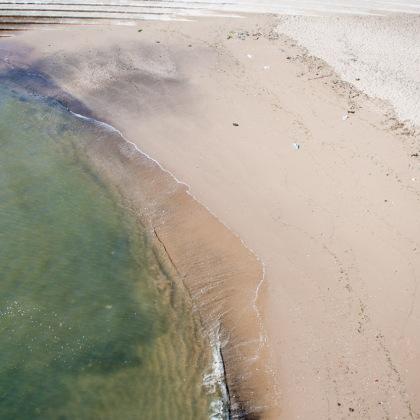 Playa en el rio Tajo, Lisboa.© mateoht 1990-2013 - http://lafotodeldia.net