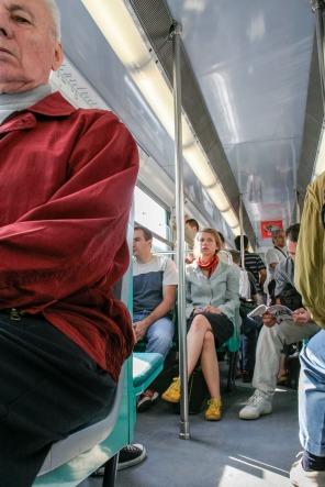 Interior de autobús, París. © mateoht 1990-2013 - http://lafotodeldia.net