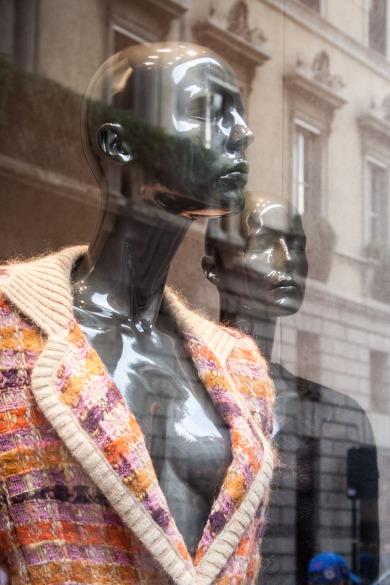 Maniquíes en escaparate, Milán. © mateoht 1990-2013 - http://lafotodeldia.net