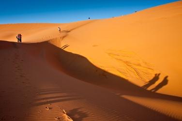 Atardecer en las dunas, Argelia. © mateoht 1990-2013 - http://lafotodeldia.net