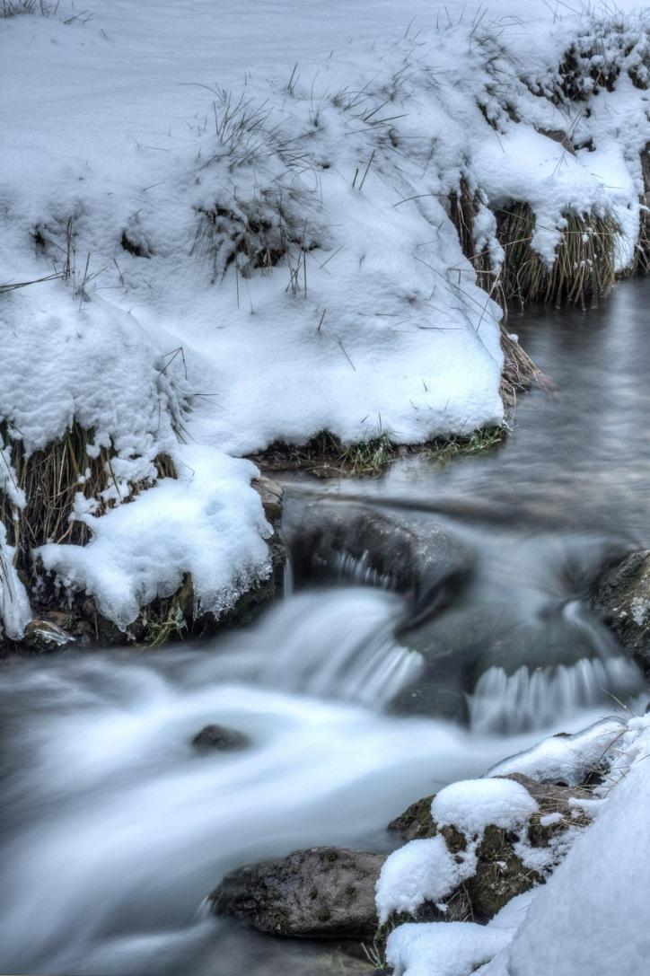 Rio nevado en la Virgen de la Vega, Teruel. © mateoht 1990-2013 - http://lafotodeldia.net