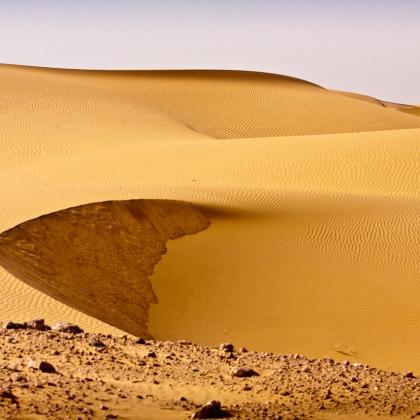 Dunas en el Sahara, Argelia. © mateoht 1990-2013 - http://lafotodeldia.net