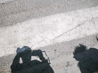 Sombras en el asfalto, Valencia. © mateoht 1990-2013 - http://lafotodeldia.net