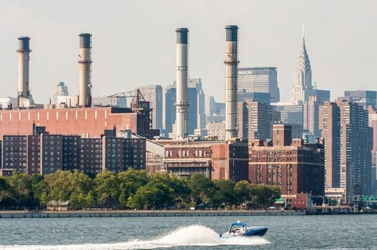 Rio Hudson, Manhattan, New York. © mateoht 1990-2014 - http://lafotodeldia.net