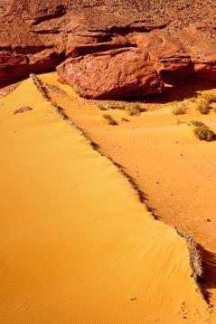 Dunas en el Sahara, Argelia. © mateoht 1990-2014 - http://lafotodeldia.net
