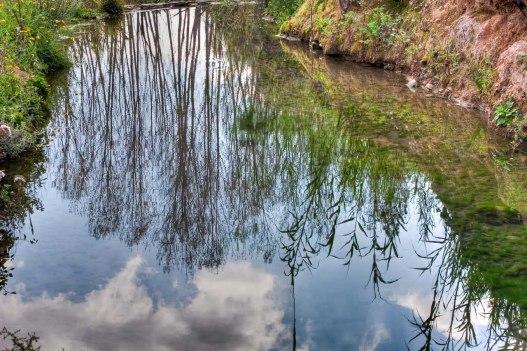 Reflejos en el agua. © mateoht 1990-2013 - http://lafotodeldia.net