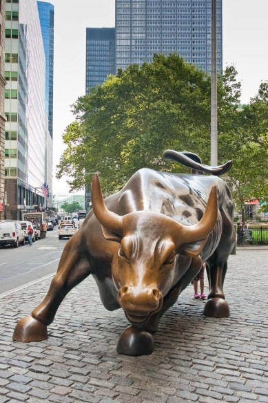 Estatua en Wall Street, Manhattan, New York © mateoht 1990-2013 - http://lafotodeldia.net