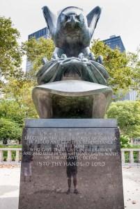 Estatua en un parque, New York. © mateoht 1990-2014 - http://lafotodeldia.net