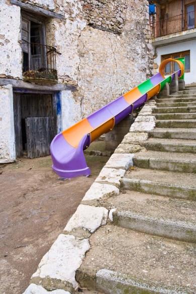 Calle en Castell de Cabres, Castellón © mateoht 1990-2014 - http://lafotodeldia.net