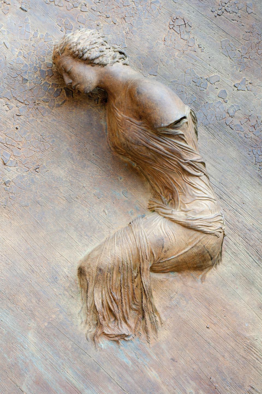 Estatua en la pared, Roma.© mateoht 1990-2014 - http://lafotodeldia.net
