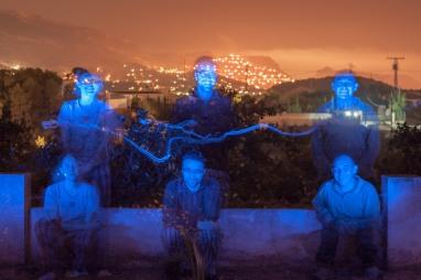 Mis amigos en La Nuncia, Alicante. © mateoht 1990-2014 - http://lafotodeldia.net