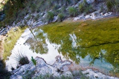 Cauce del rio en Bolbaite, Valencia © mateoht 1990-2014 - http://lafotodeldia.net