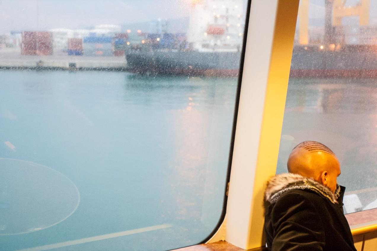 Ferry Algeciras-Ceuta. © mateoht 1990-2014 - http://lafotodeldia.net
