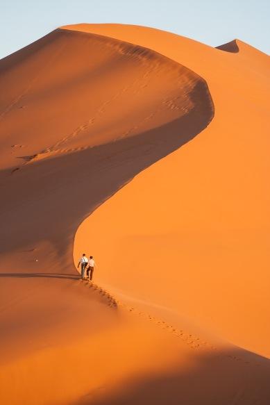 Dunas en Merzouga, Marruecos. © mateoht 1990-2014 - http://lafotodeldia.net