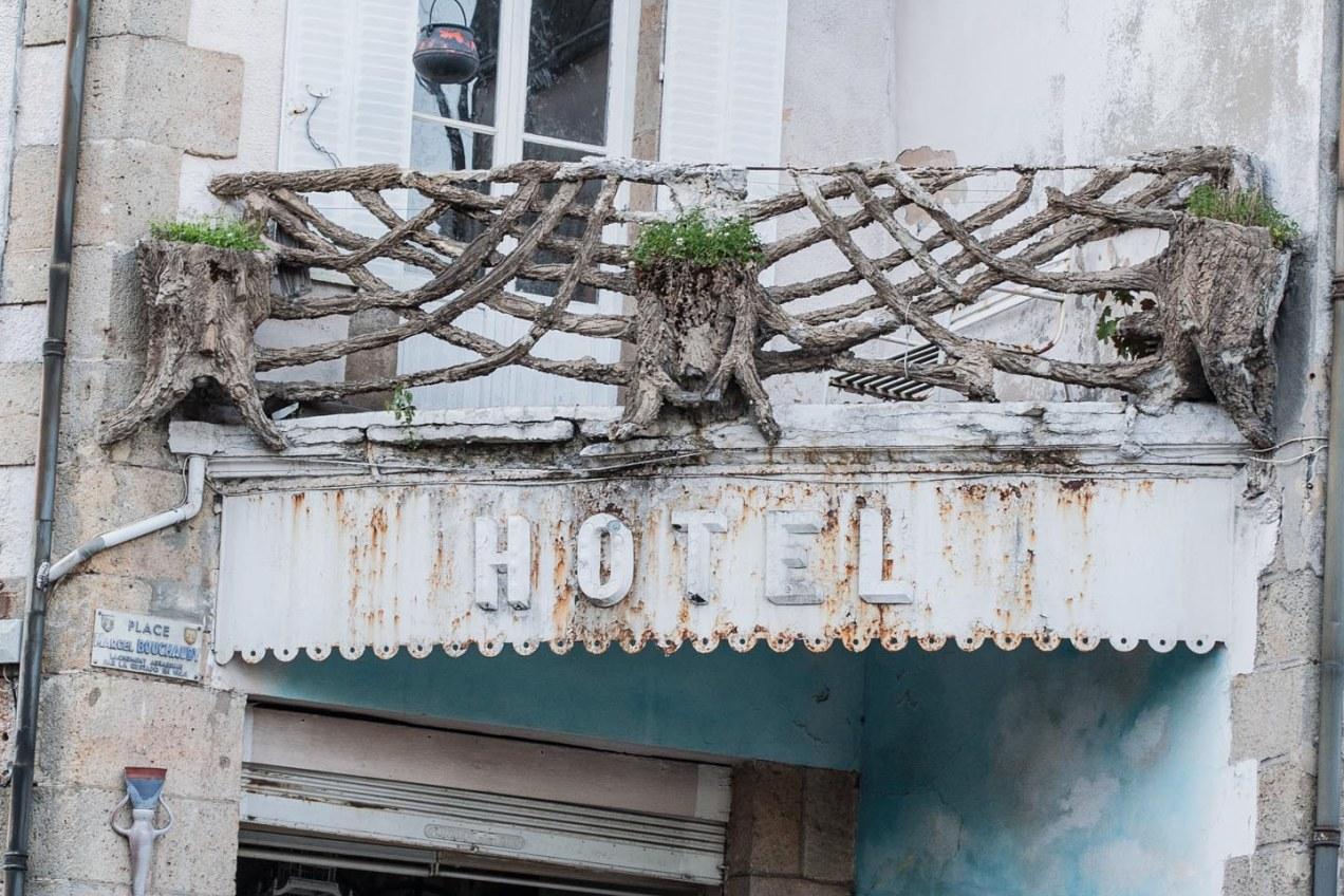 Hotel en La Bourboulle, Francia. © mateoht 1990-2014 - http://lafotodeldia.net