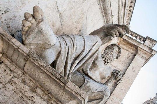 Estátua en Roma, Italia. © mateoht 1990-2014 - http://lafotodeldia.net